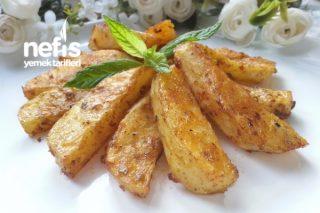 Körili Bol Çeşnili Fırın Patates Tarifi