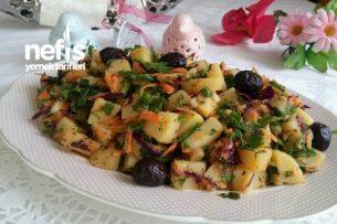 Nefis Patates Salatası (Sahur için) Tarifi