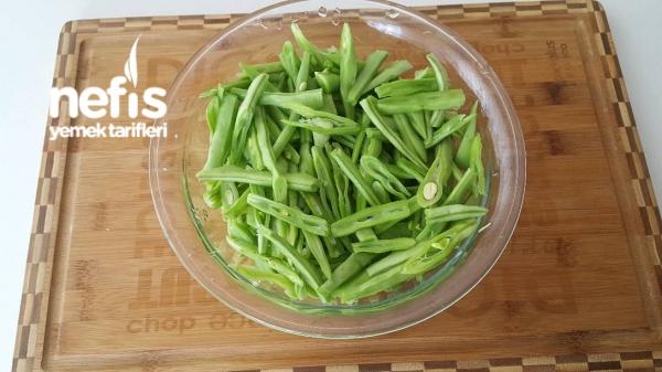 Nefis Yeşil Fasulye Salata Tarifi