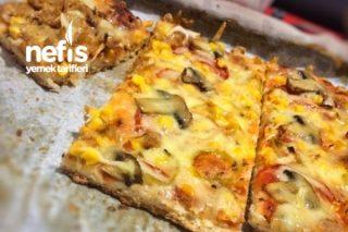 Ton Balıklı Pizza Tarifi