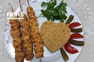 Fırın Poşetinde Tavuk Şiş (Mangal tadında) Tarifi