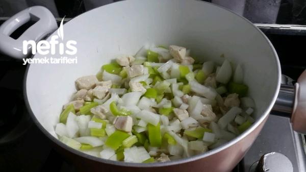 Tavuklu Patlıcan Kapama
