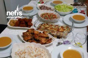 Ailecek İftar Yemeğimiz Tarifi