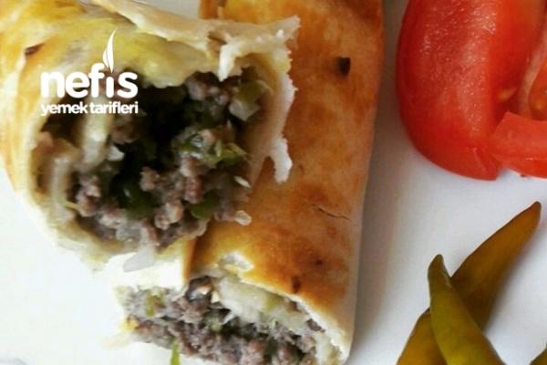 Kıymalı Tortilla (Yemeye Doyamayacaksınız) Tarifi