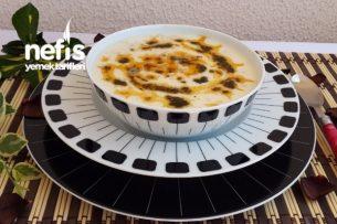 Nohutlu Yarmalı Yoğurt Çorbası Tarifi