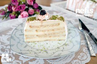 Bisküvili Pasta Yapımı (Videolu Anlatım) Tarifi