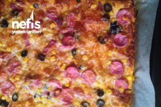 İftara Kolay Pizza Tarifi