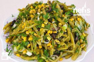 Yeşil Fasulye Salata Videosu Tarifi
