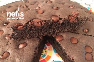 Damla Çikolatalı Kakaolu Pandispanya Kek Tarifi