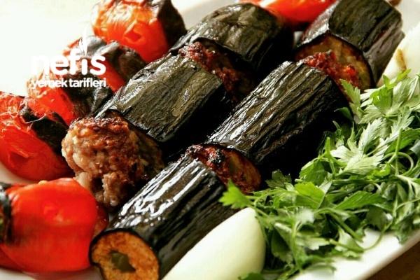 Gazi Antep Yöresine Ait Fırında Patlıcan Kebabı Tarifi