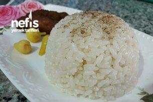 Salma Yöntemiyle Pirinç Pilavı (Tane Tane) Tarifi