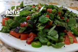 Semizotu (Pimpirin) Salatası Tarifi
