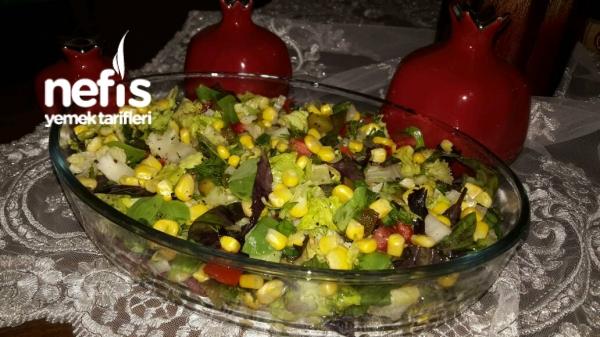 Akdeniz Salatası  (bomba lezzet mutlaka deneyin)
