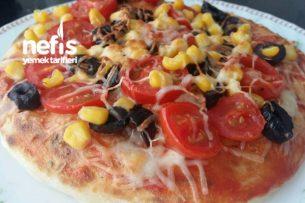 Bazlama Üstü Pizza (Sahura ) Tarifi