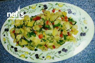 Kuzukulaklı Nefis Patates Salatası Tarifi