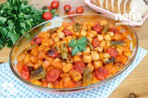 Fırında Patatesli Köfte Nasıl Yapılır? (Videolu)