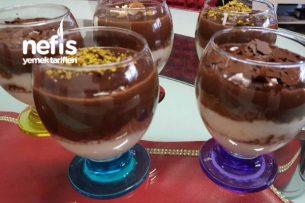 Kupta Çikolatalı Bisküvili Tatlı Tarifi