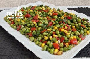 Nefis Bezelye Salatası Tarifi