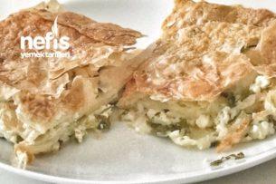 Peynirli Börek (Baklava Yufkasından) Tarifi