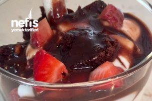 Çikolatalı Meyveli Kup Tarifi