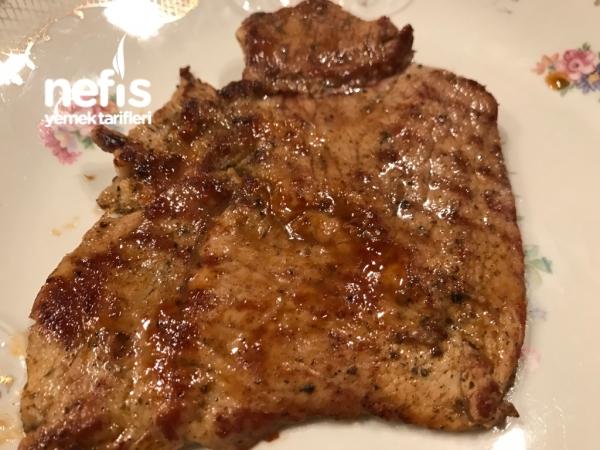 Kuşkonmaz Ve Tavada Biftek Tarifi