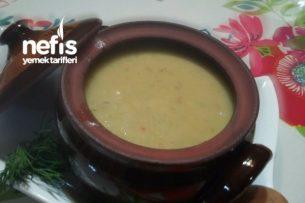 Nefis Köz Patlıcan Çorbası Tarifi