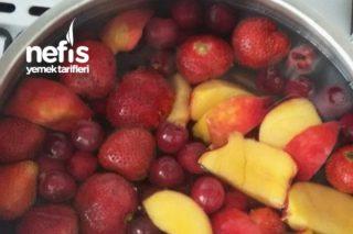 Karışık Taze Meyve Kompostosu Tarifi