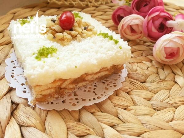 Elmalı Pasta(çok Hafif)