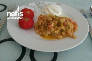 Patatesli Menemen Tarifi