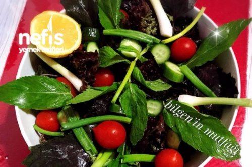 Akdeniz Salatası Tarifi Videosu