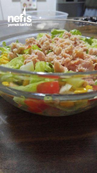 Diyet Dostu Salata (ton Balıklı)