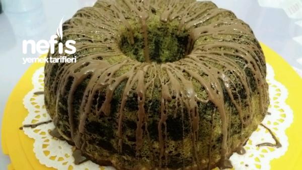 Ispanaklı Kakaolu Kek