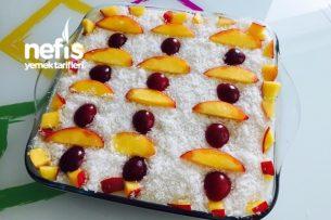 Meyve Şölenli Gelin Pastam Tarifi