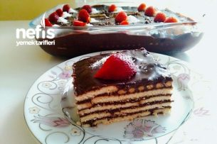 Bisküvili Pasta (videolu) Tarifi