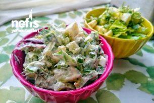 Yeşil Yumurta Salatası Tarifi