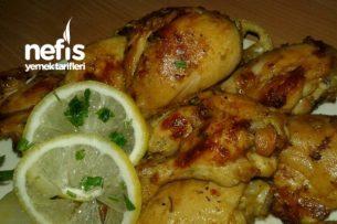 Limonlu Soslu Nefis Lokum Tavuk (Fırın Poşetinde) Tarifi