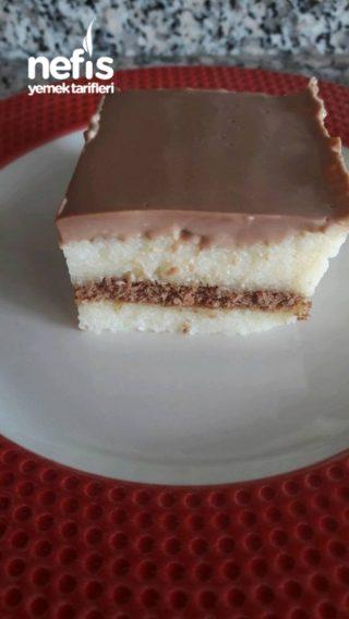 Çikolata Soslu İrmik Tatlım
