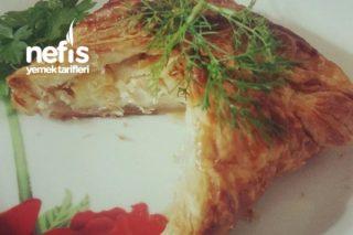 Tavuklu Kremalı Börek Tarifi