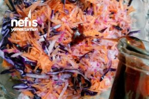 Enfes Üçlü Salatası Tarifi