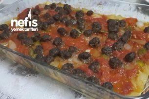 Közlenmiş Domates Kebabı Tarifi