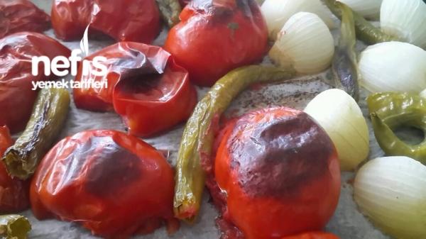 Közlenmis Domates Kebabı