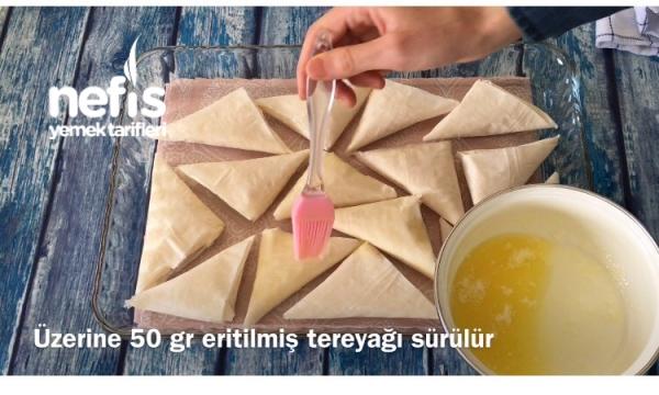 Muska Şeklinde Laz Böreği (10dk Da)