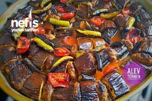 Pratik Fırında Köfteli Patlıcan Dizme (Lezzeti Şahane) Tarifi