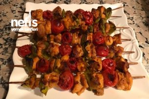 Sebzeli Tavuk Şiş Tarifi