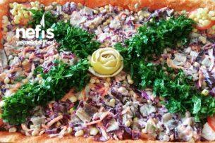 Bulgurlu Köfte Salatası Tarifi