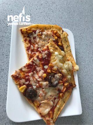 Karbonhidratsız Pizza / Unsuz Pizza
