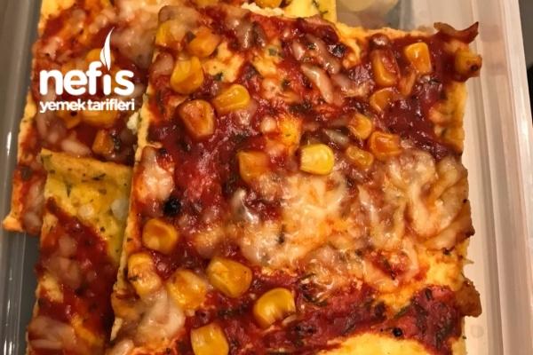 Karbonhidratsız Pizza / Unsuz Pizza Tarifi