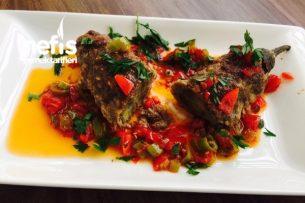 Köfte Mantolu Patlıcan Yemeği Tarifi