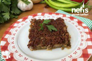 Kıymalı Patlıcan Yemeği Tarifi Videosu 6