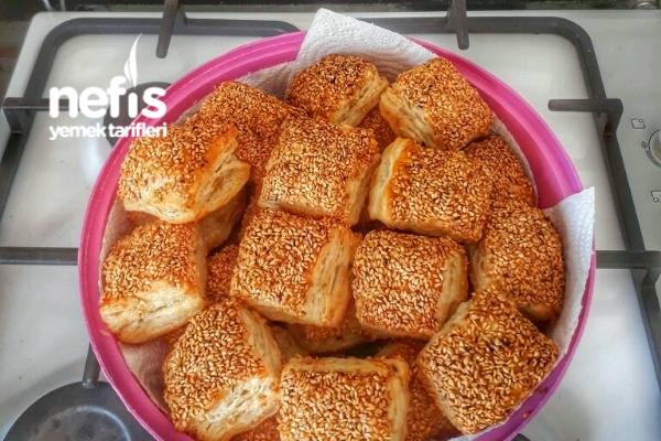 Simit Tadında Milföy Böreği Tarifi